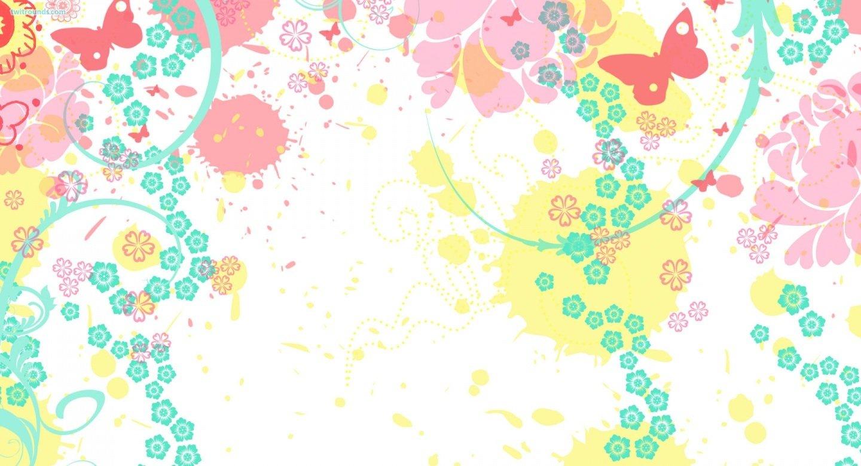 Girly Summer Splash Twitter Background Twitter Backgrounds Other 1440x780