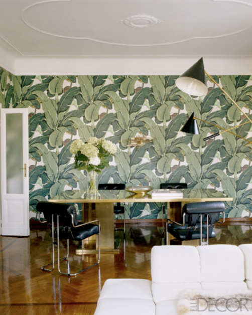 Which reminded me of this timeless Palm print wallpaper from 502x628