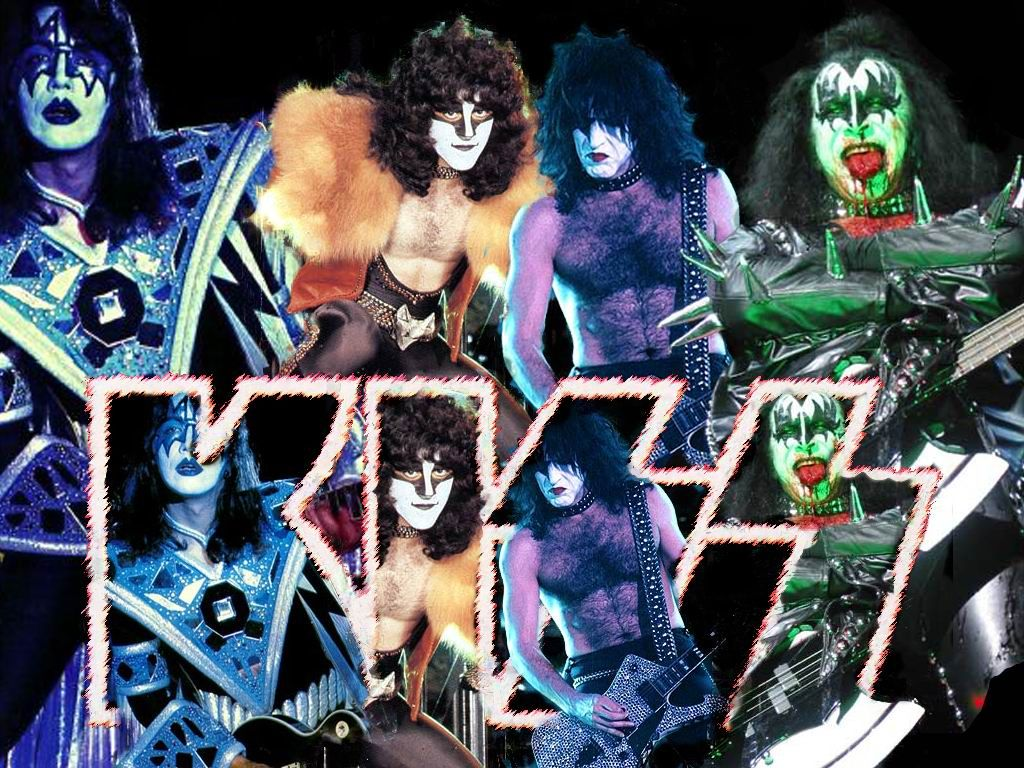 KISS Wallpaper 1024 x 768 1024x768