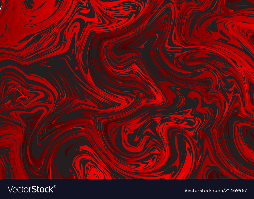 Red and black liquid style abstract background Vector Image 1000x786