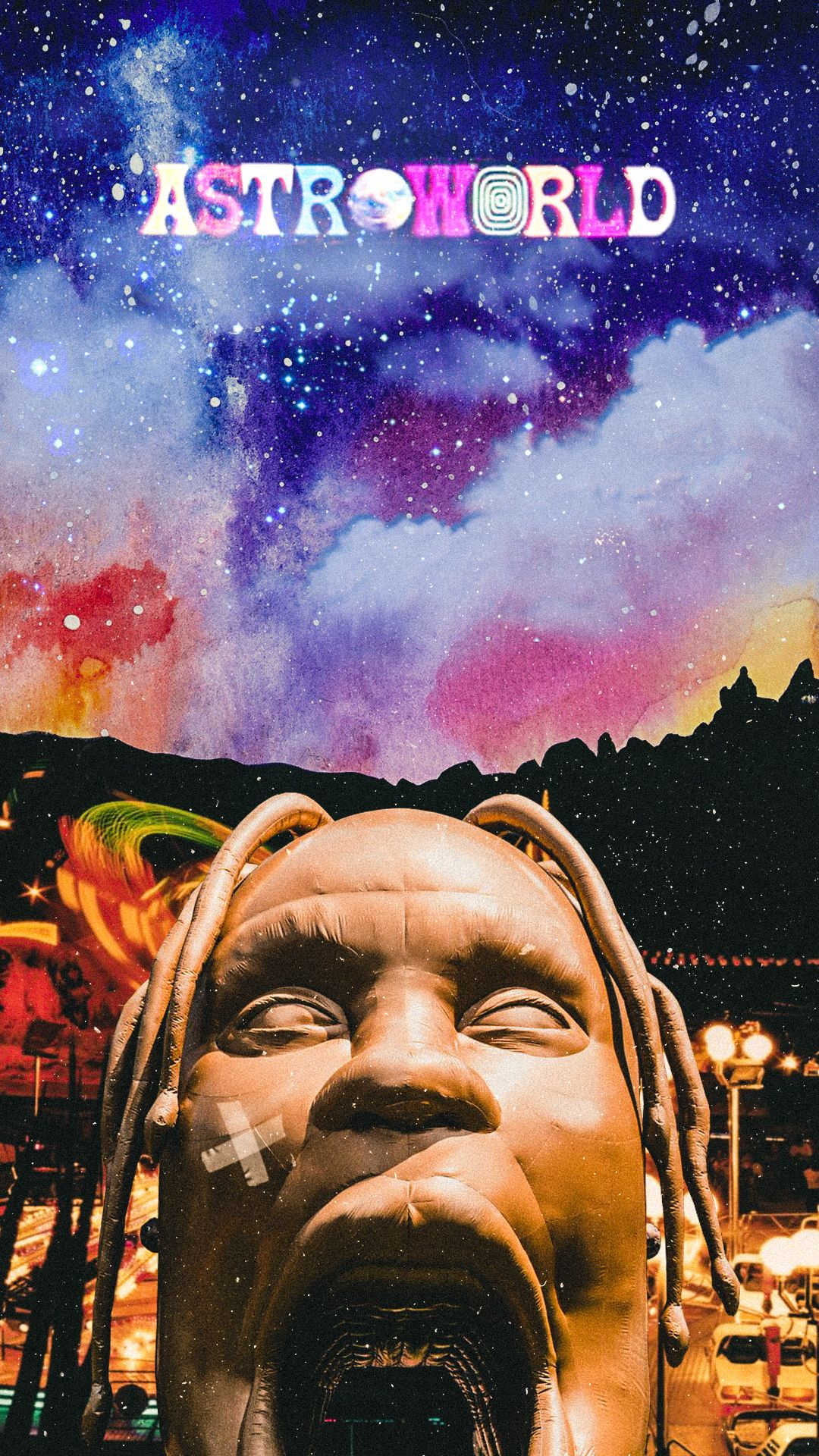 Astroworld wallpaper With images Travis scott iphone wallpaper 1080x1920