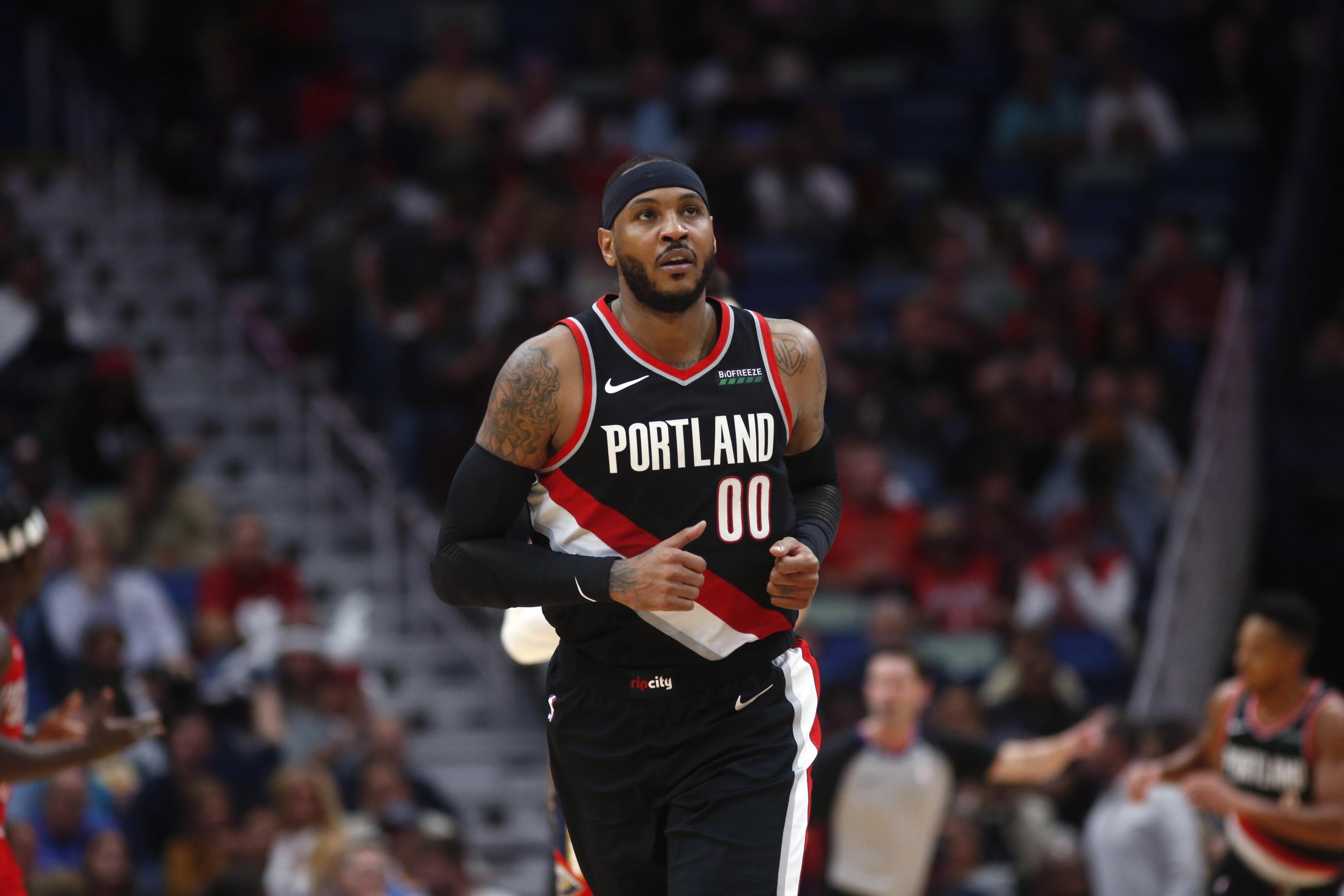 Carmelo Anthony Was Preparing to Retire Before Trail Blazers 3072x2048
