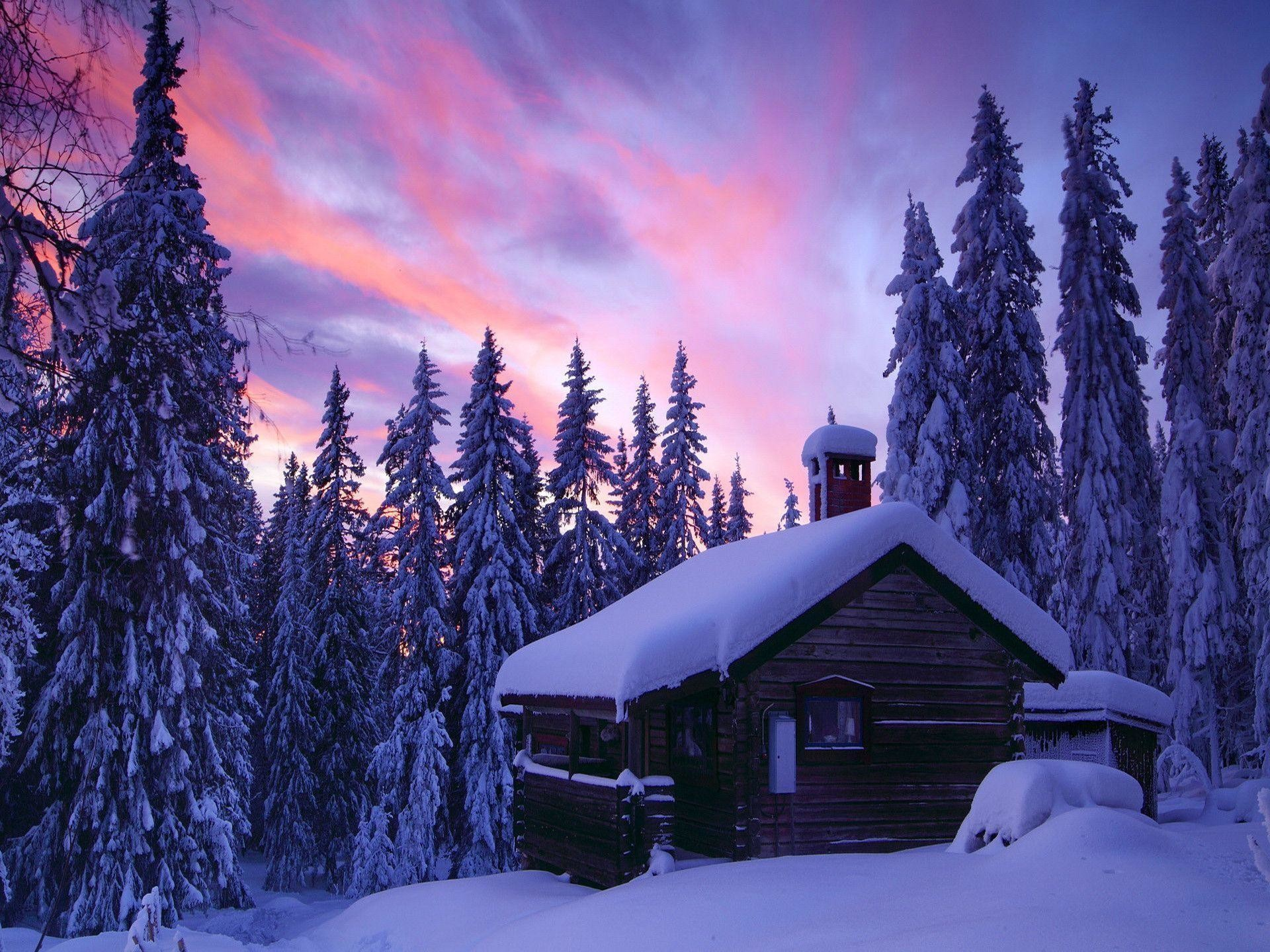 62 Winter Cabin Wallpapers on WallpaperPlay 1920x1440
