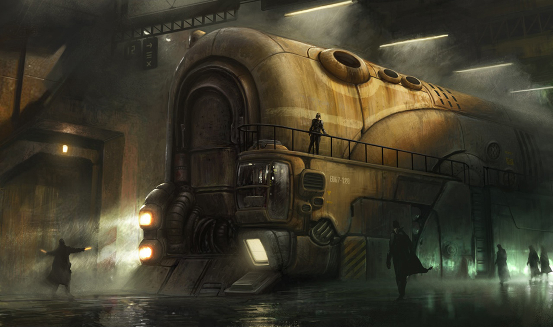 Sci Fi   Steampunk Steampunk Space Furnace Wallpaper 1831x1082