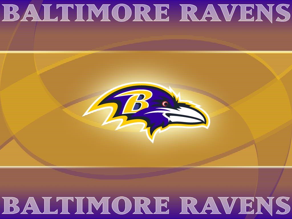 Baltimore Ravens Logo Wallpaper 1024x768