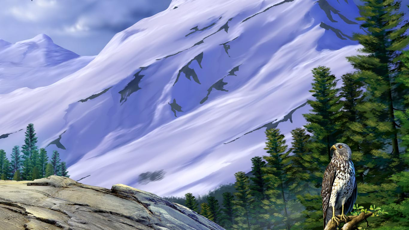 Hd wallpaper download for laptop - Northern Mountains 1366x768 Hd Laptop Free Background 1366x768