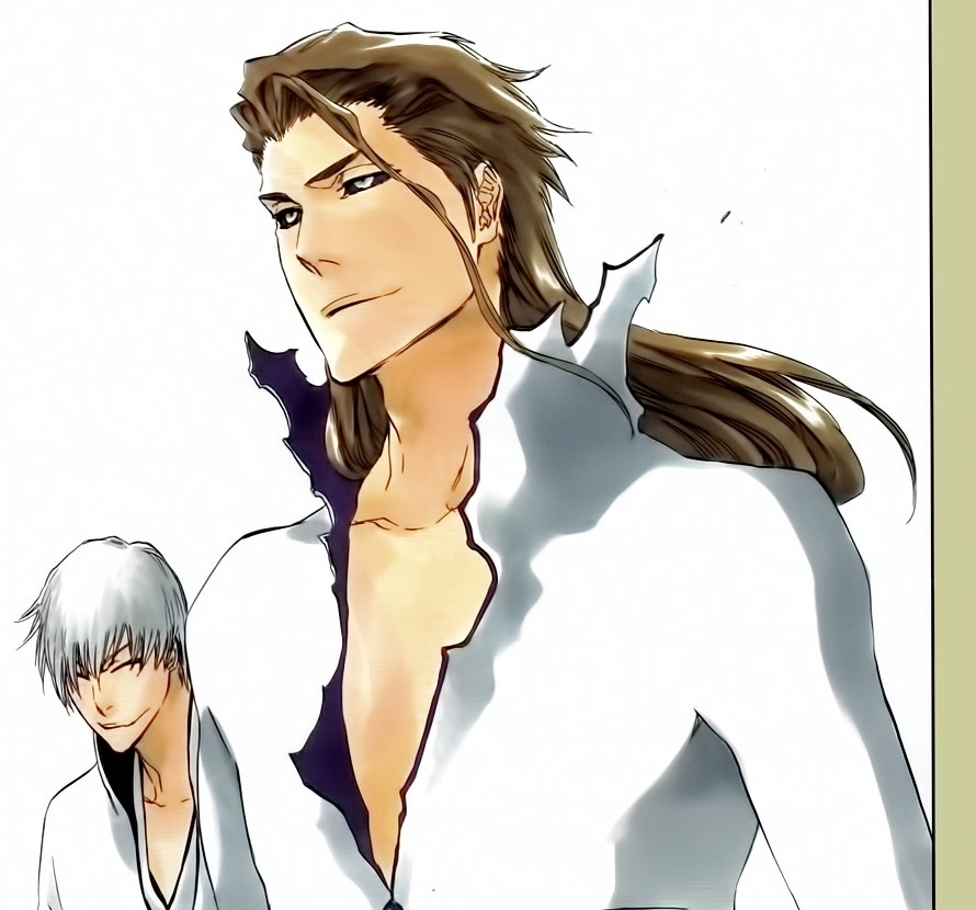 Bleach Anime images Gin and Aizen HD wallpaper and background 890x830