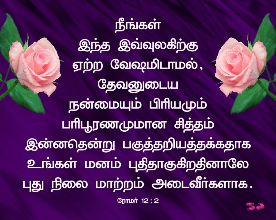 Christian Wallpapers Tamil Bible Verse Wallpaper 960x767