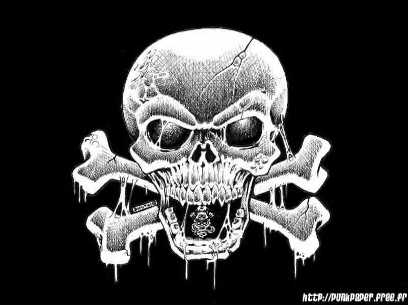 Skull And Crossbones Wallpapers - WallpaperSafari