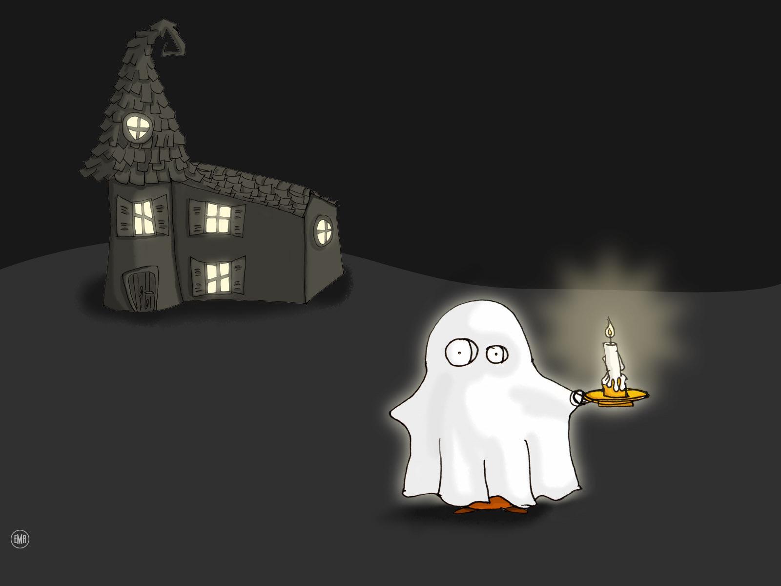 Cartoon Ghost Wallpaper Cartoon Images 1600x1200