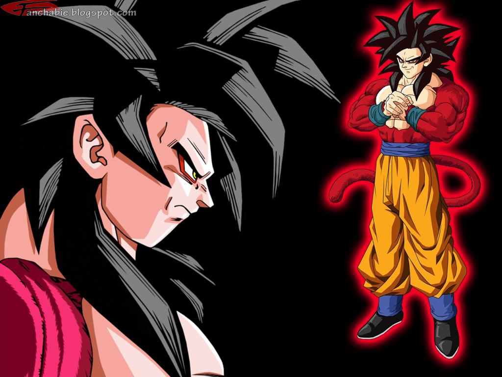 Goku Super Saiyan 4 1024x768