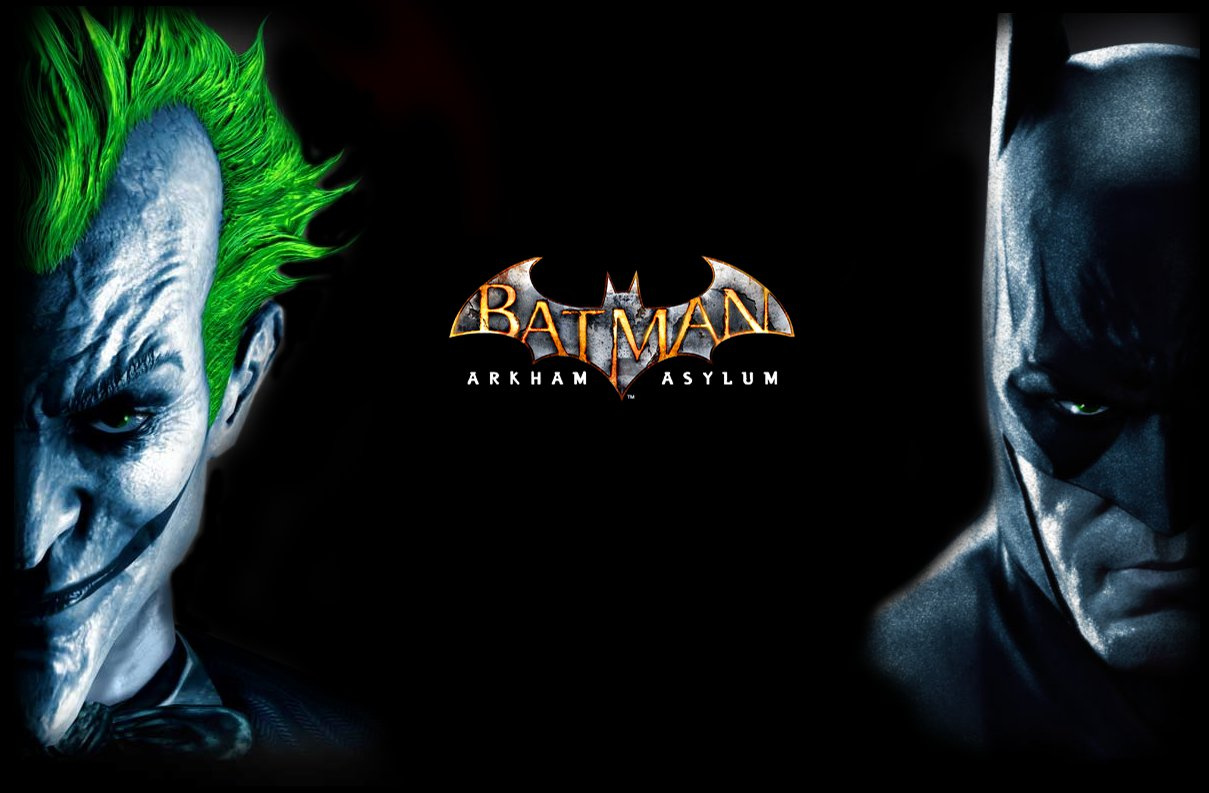 Joker Batman Arkham Asylum Wallpaper Images amp Pictures   Becuo 1209x793
