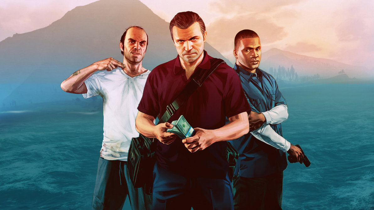 GTA V Wallpaper by eximmice 1191x670