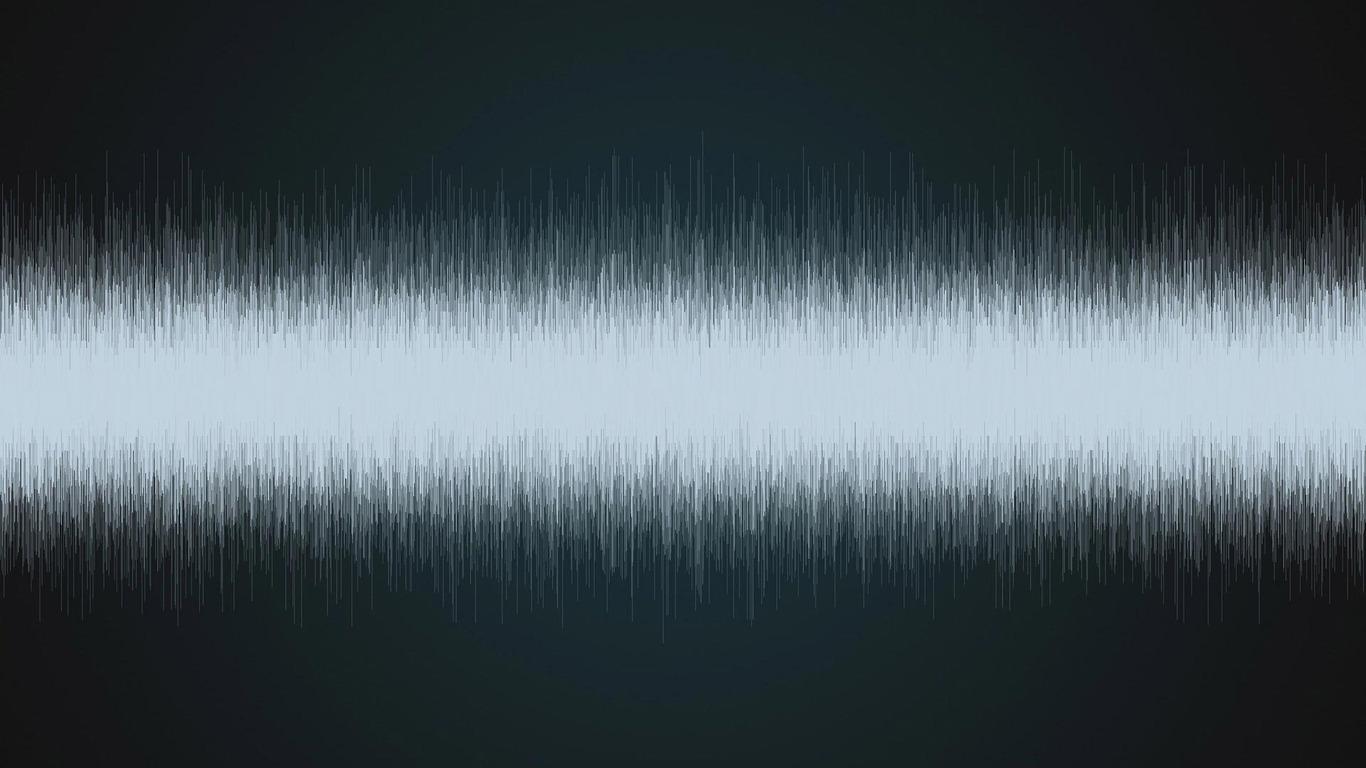 Sound waves wallpaper 194 1366x768
