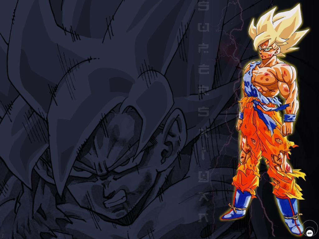 Goku Wallpaper Son goku wallpaper 1024x768