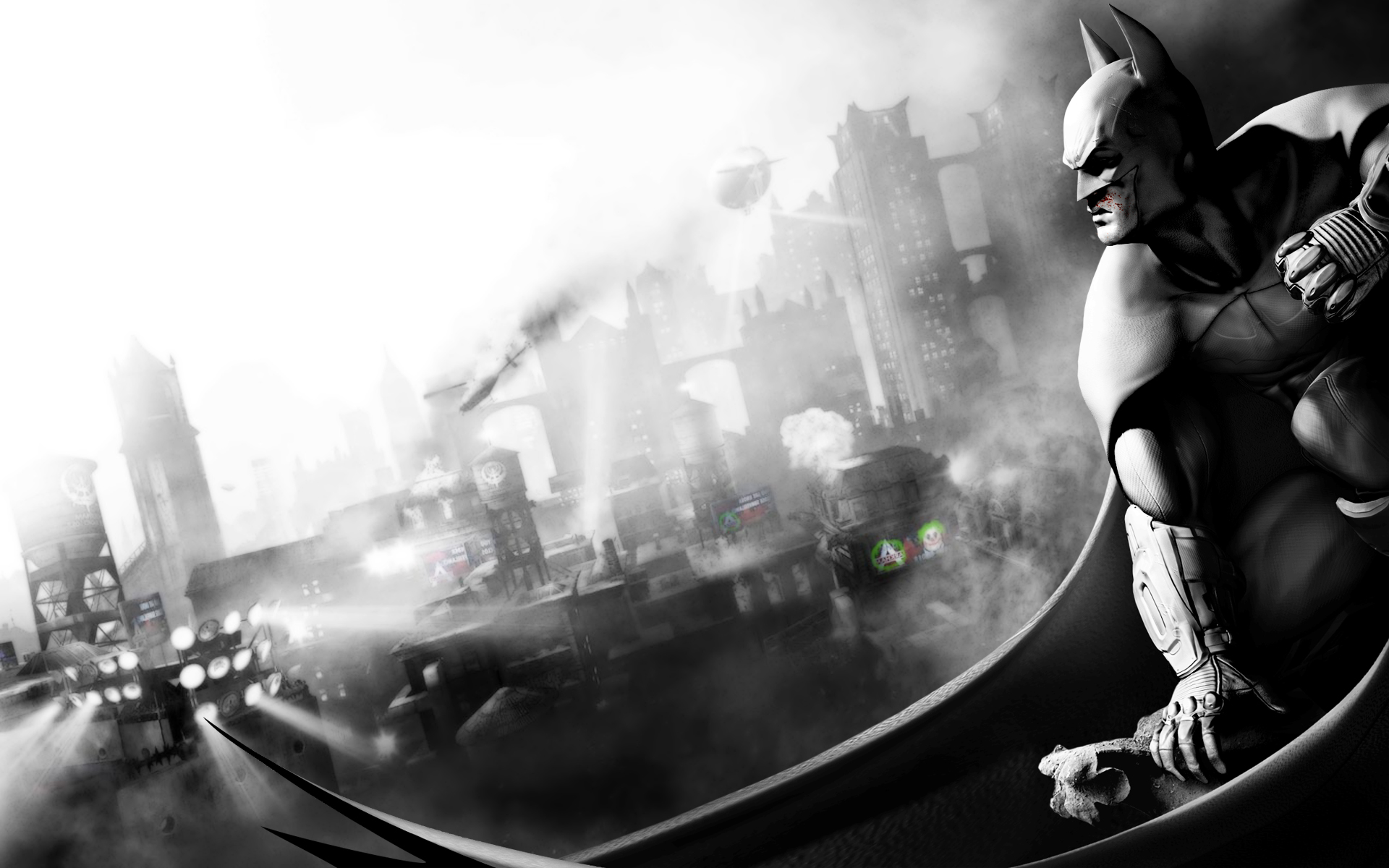 batman arkham city 1920x1200 wallpaper click for full size plan is 1920x1200