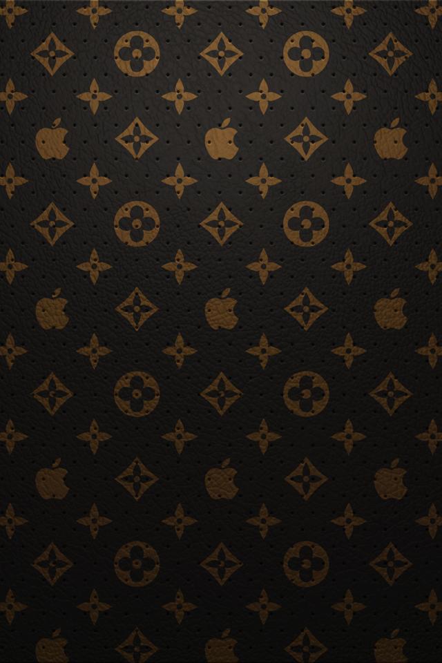 Louis Vuitton Apple   iPhone 4 Wallpaper   Pocket Walls HD 640x960