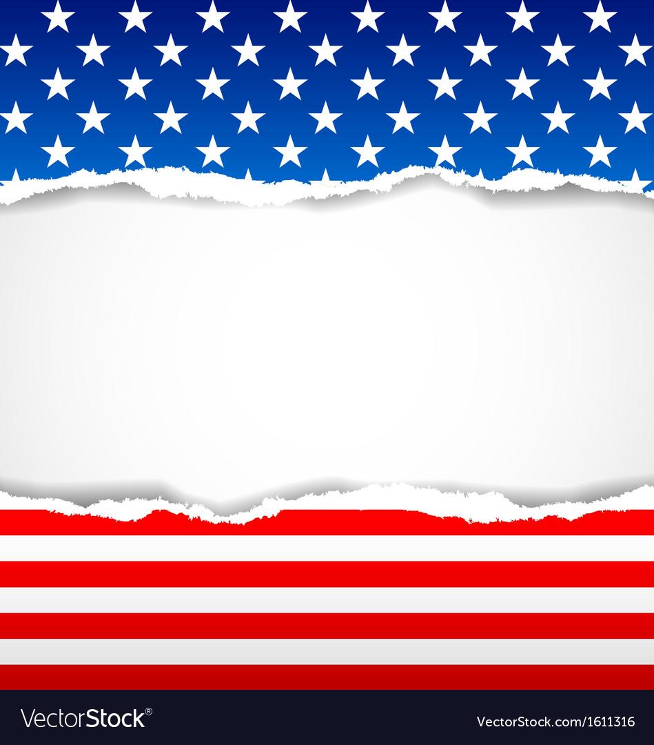 American background Royalty Vector Image   VectorStock 949x1080