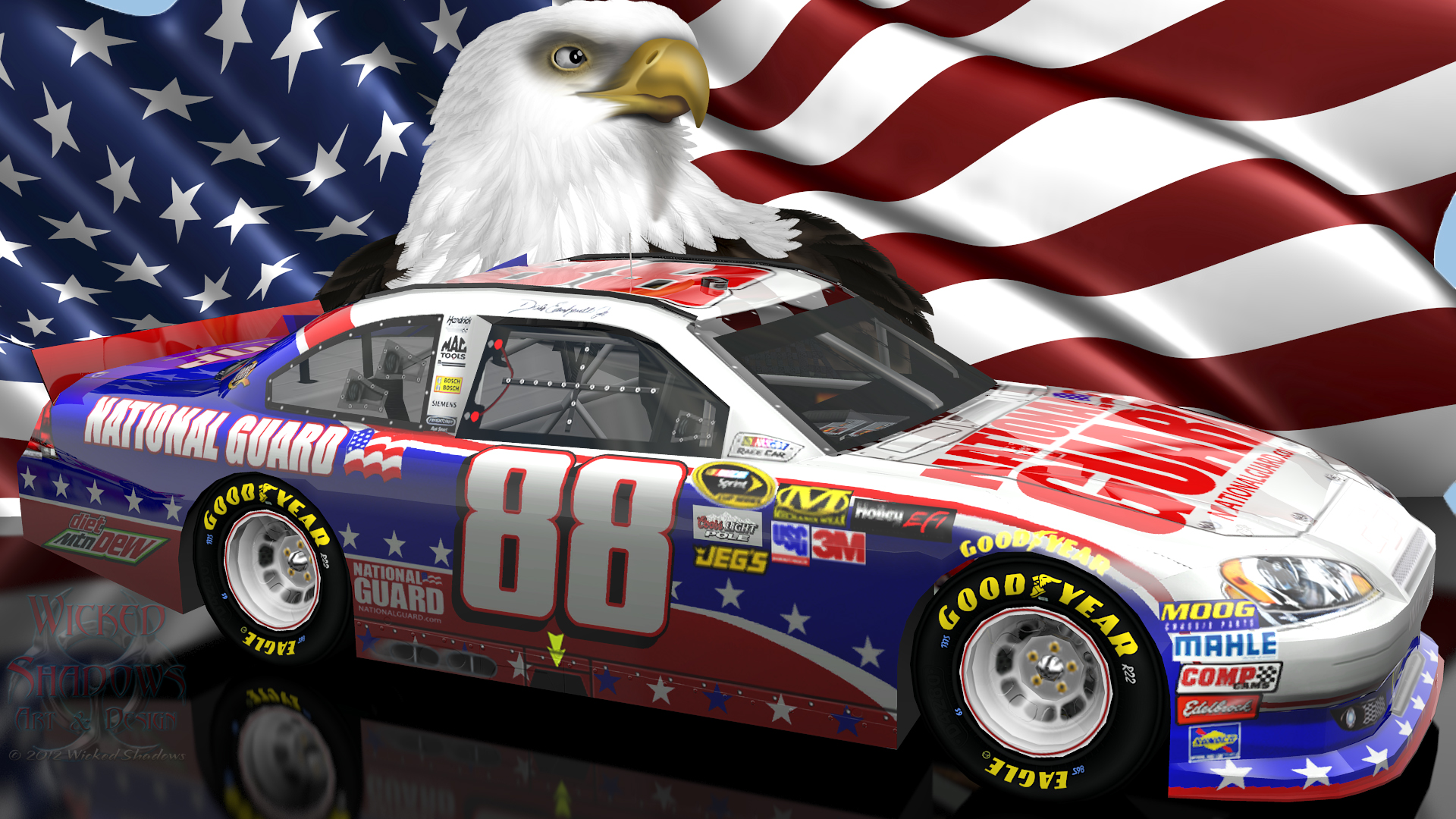 Wallpapers By Wicked Shadows Jimmie Johnson Nascar Unites: [47+] Wallpaper Of Dale Earnhardt On WallpaperSafari