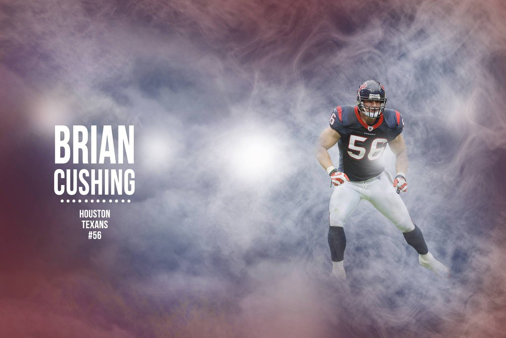 Wallpaper Brian Cushing by HazZbroGaminG 1024x683