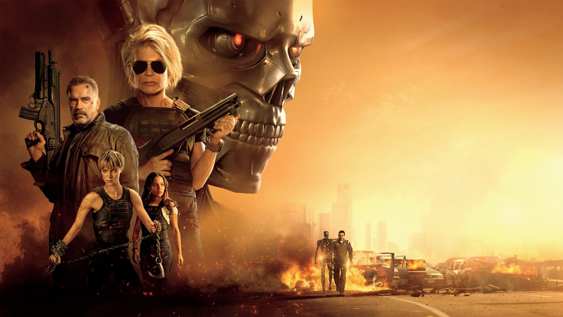 40 Terminator Dark Fate HD Wallpapers Background Images 1920x1080