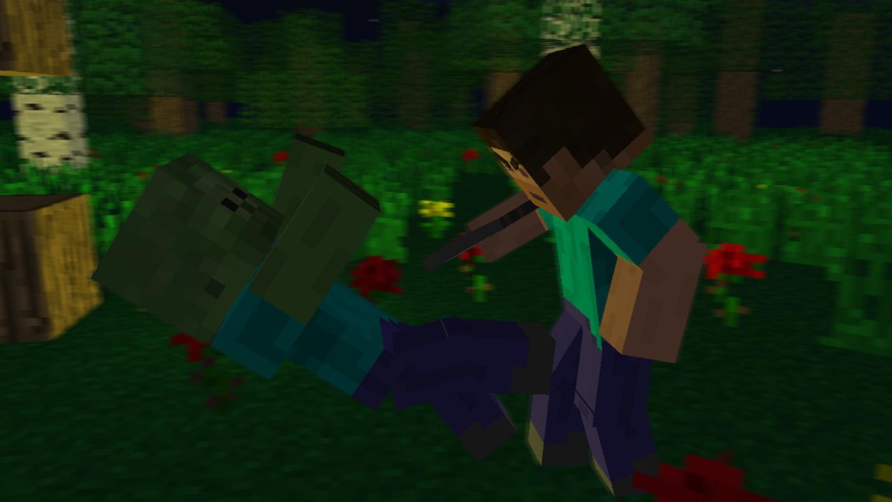Minecraft Epic Night 1280x720