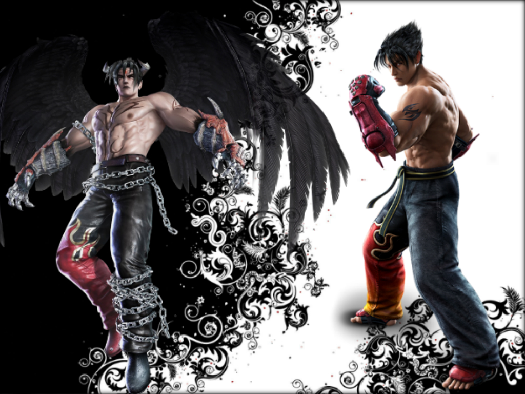 Free Download Jin Vs Devil Jin By Xkalipso 1024x768 For Your