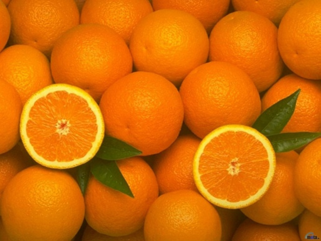 Wallpapers Orange fruit Food Fruit Citrus 1024x768