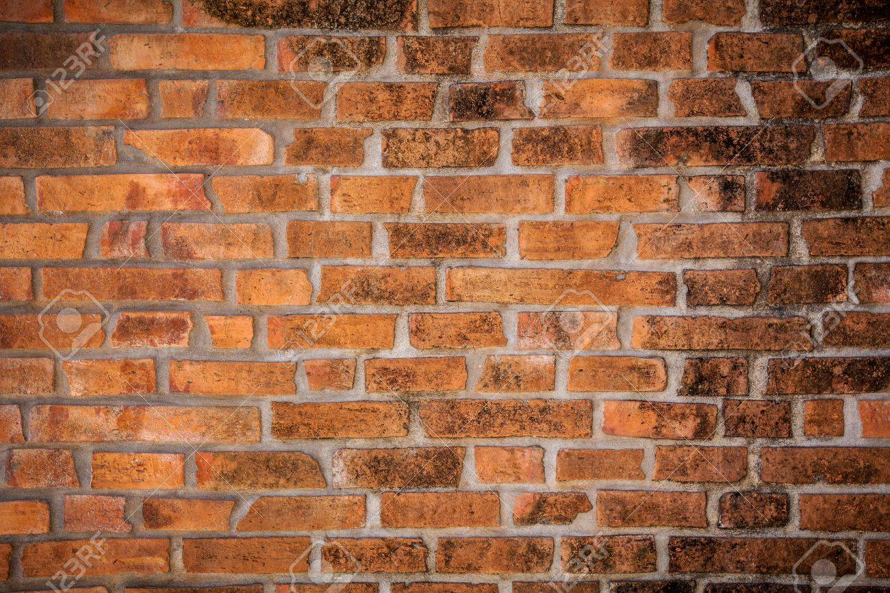 Brown Brick Wall Background Texture Stock Photo Picture And 1300x866