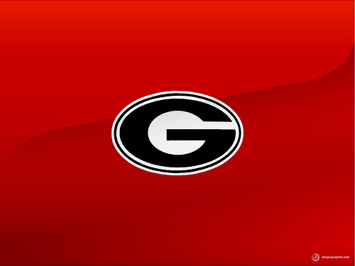 Georgia Bulldogs Great Logo Wallpaper Flickr   Photo Sharing 500x375