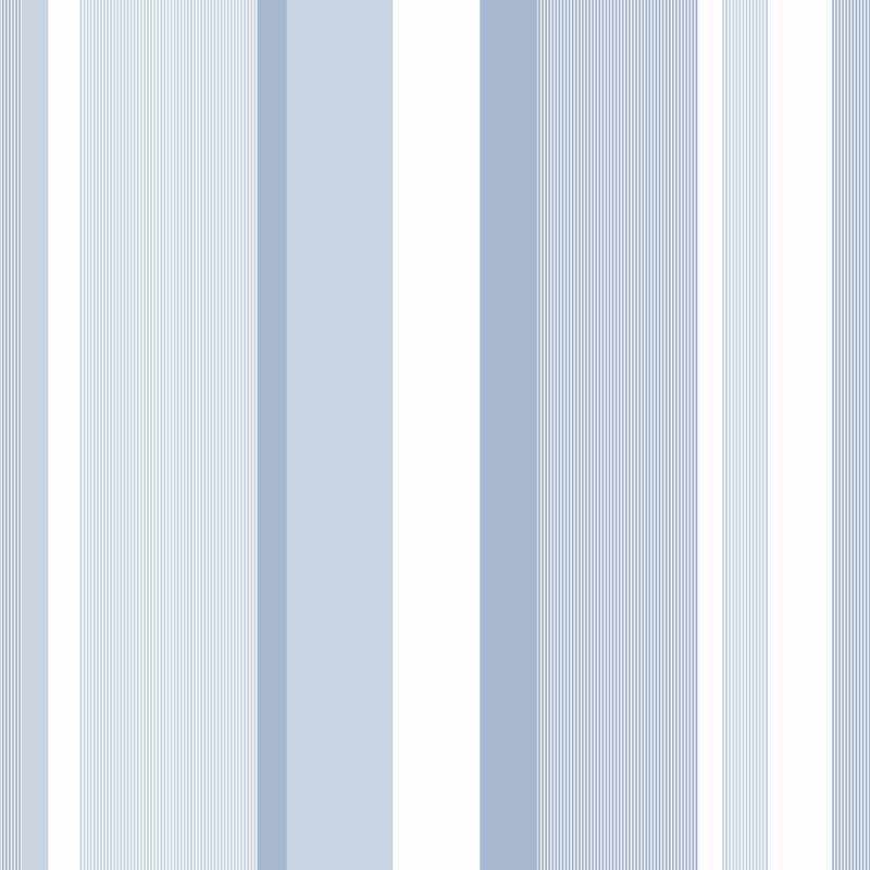 Blue Awning Stripe Peel And Stick NuWallpaper   RosenberryRoomscom 800x800