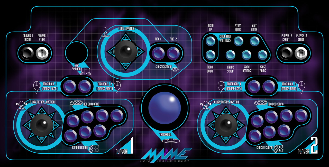 Free download Mame Wallpaper Mame large control panel by [1280x650