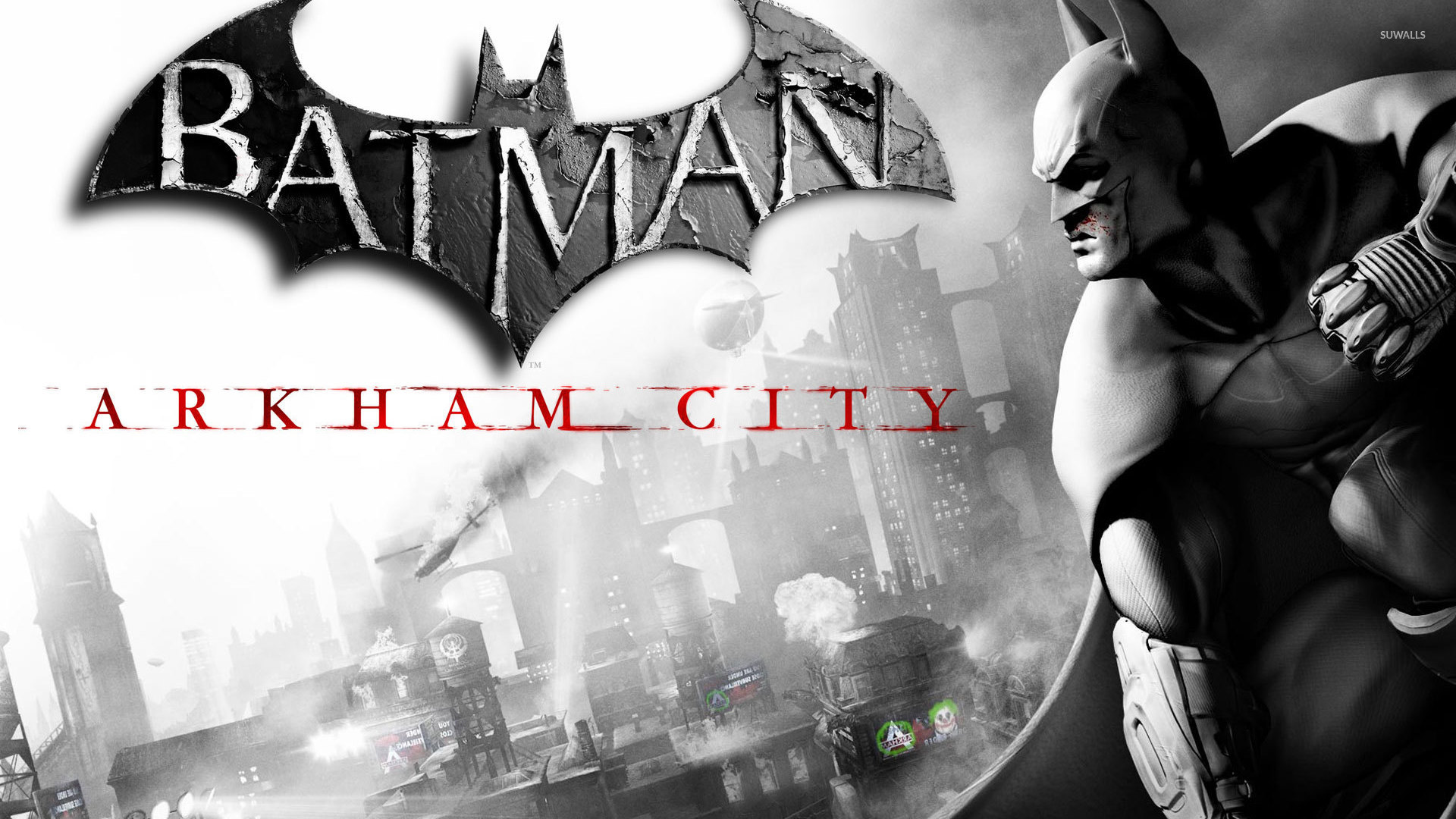 Batman Arkham City wallpaper   Game wallpapers   6530 1920x1080