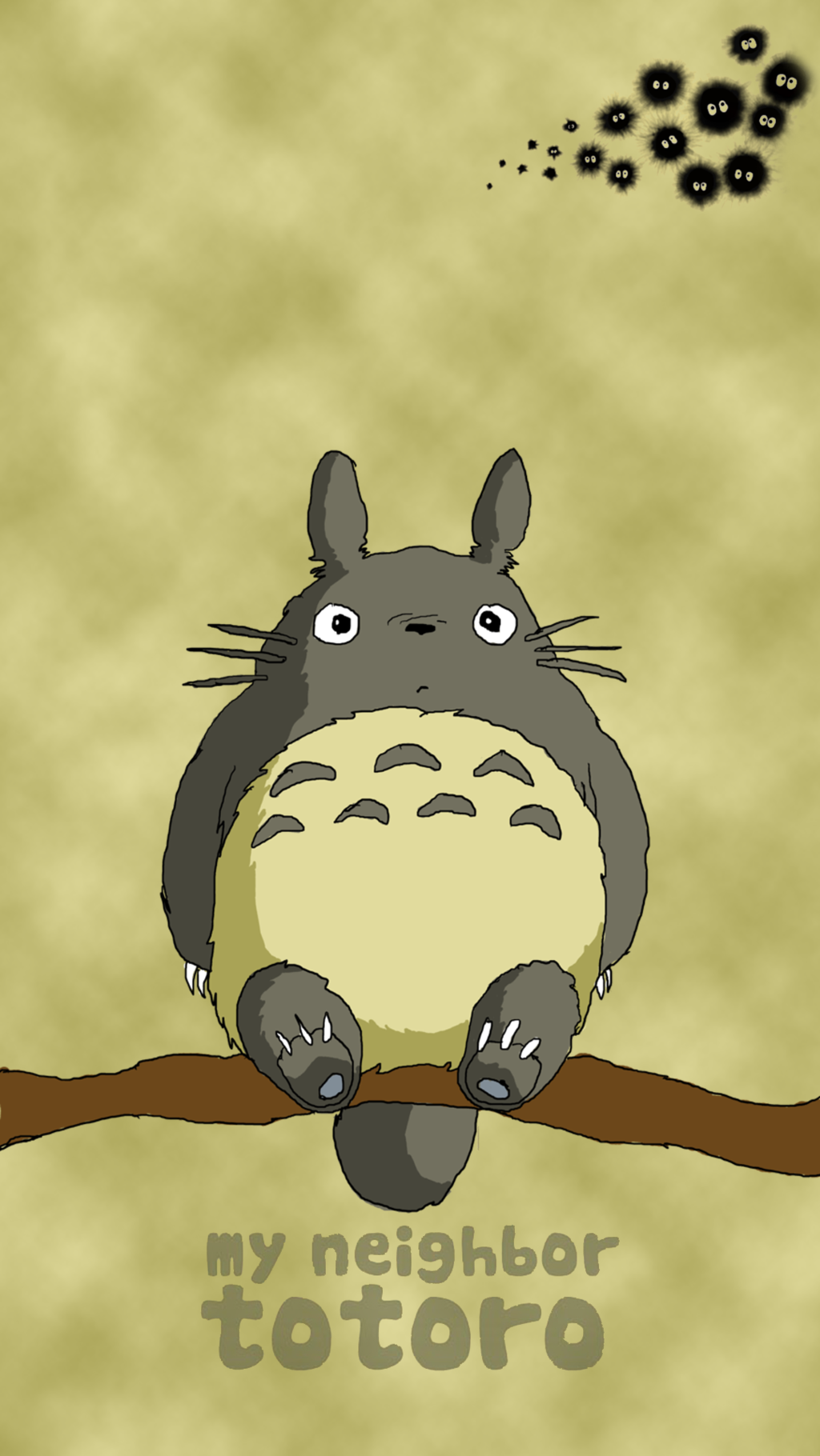 totoro iphone wallpapers and - photo #10