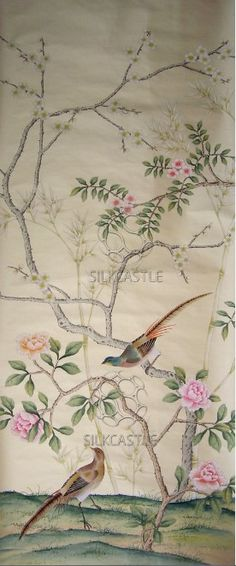 de Gournay Wallpaper Chinoiserie Wallpaper Chinoiserie and 236x566
