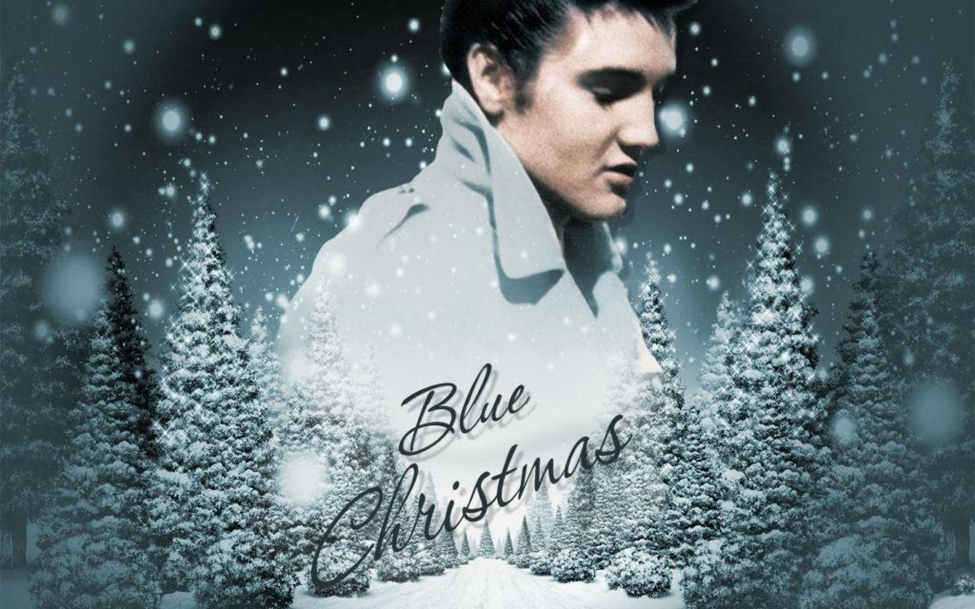 blue christmas elvis presley video