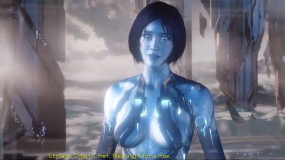 Free Download Halo Cortana Human For Pinterest 570x320 For