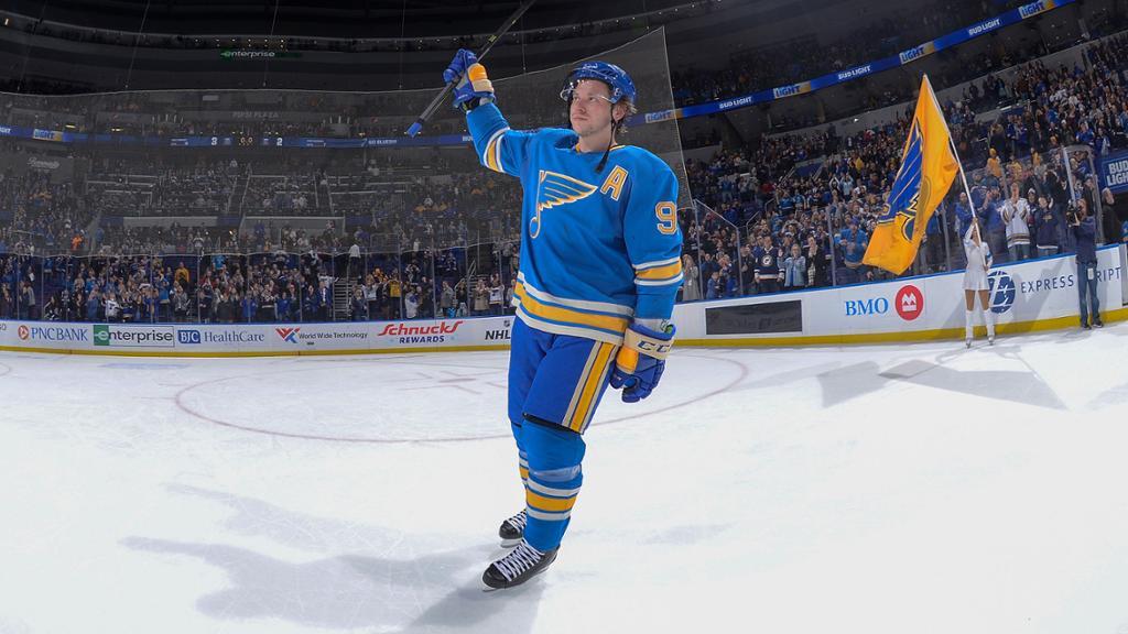 Tarasenko named NHL Second Star of the Week 1024x576