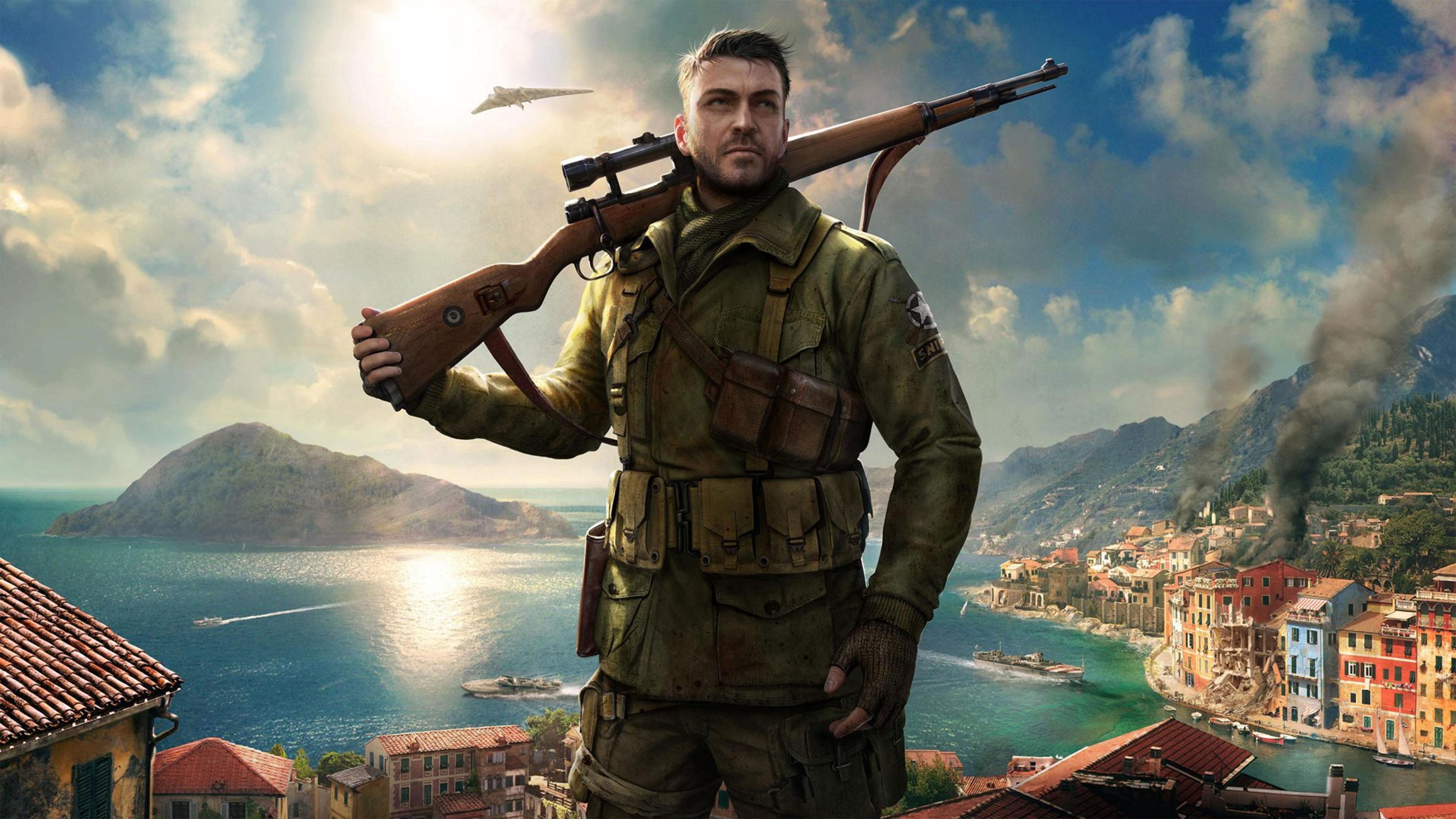 Sniper Elite 4 Wallpapers in Ultra HD 4K   Gameranx 3840x2160