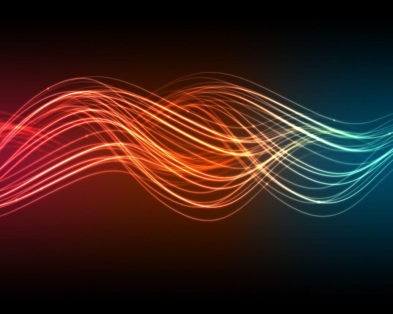 Sound Waves Wallpapers 1280x1024