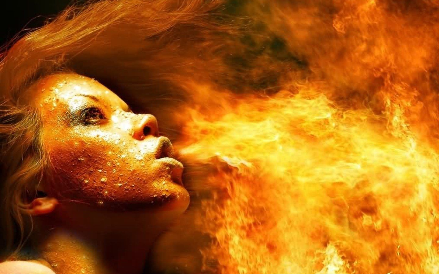 Miscellaneous Digital Fire Girls picture nr 37461 1440x900