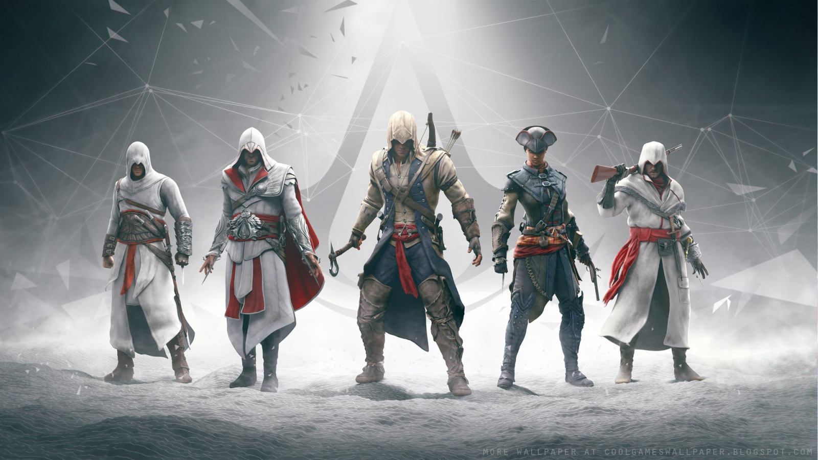 Assassins Creed 3 Wallpaper 1   Cool Games Wallpaper 1600x900