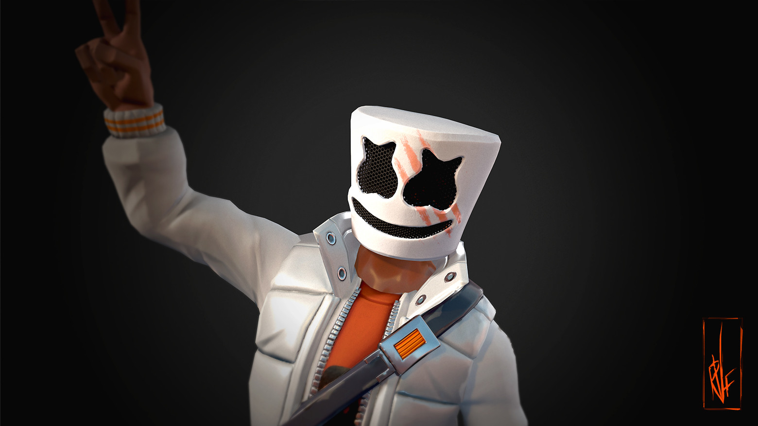 Marshmello Fortnite skin Epic Games 4192 Wallpapers and 1560x876