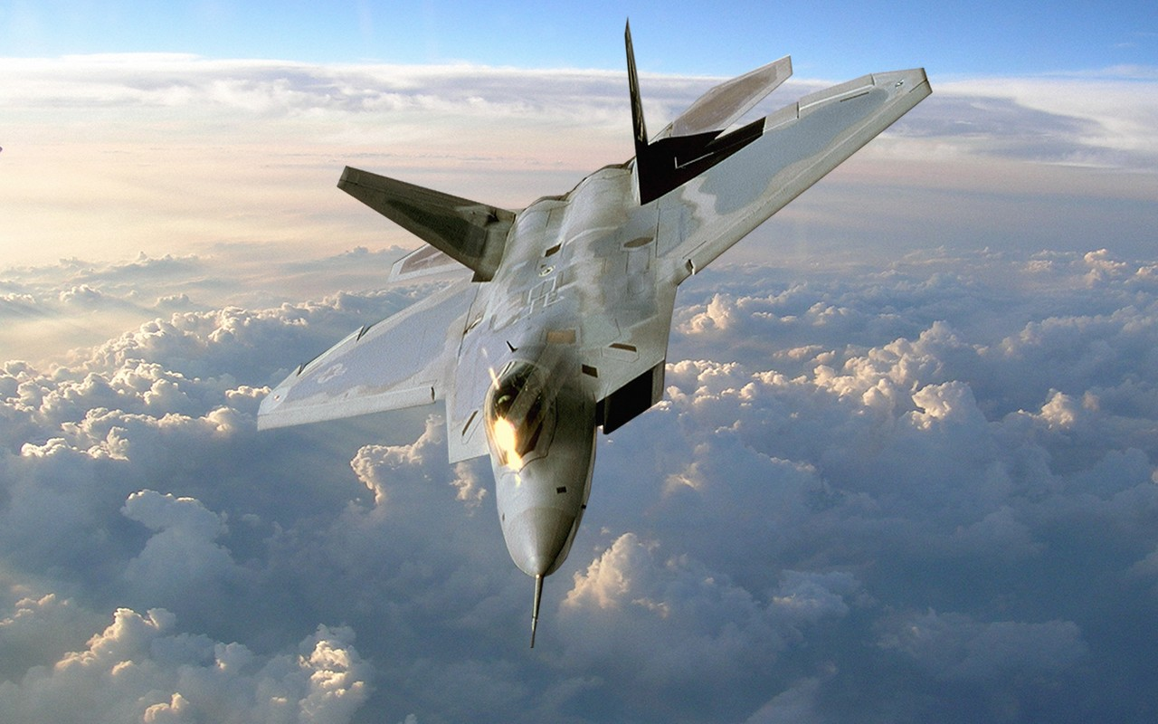 Boeing F22 Raptor Desktop Wallpaper Preview wallcapernet 1280x800