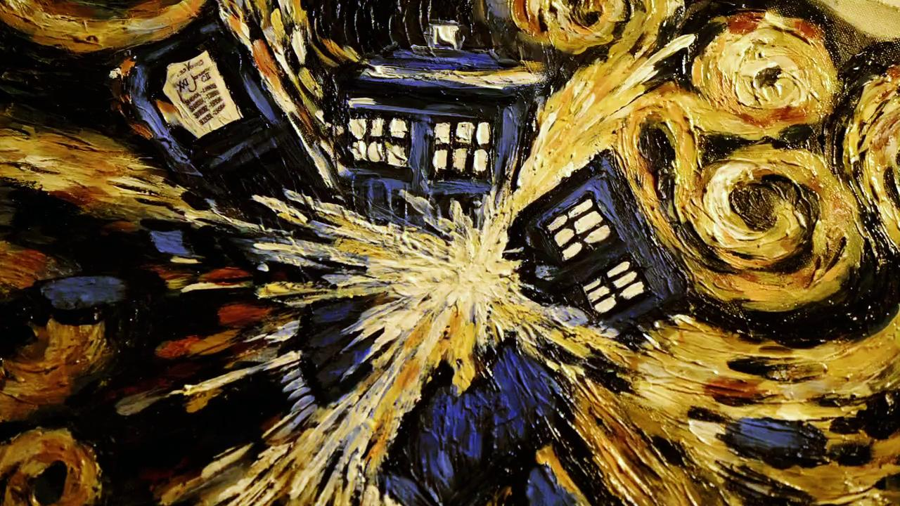 of Dutch painter Vincent van Gogh I also love love love Doctor Who 1280x720