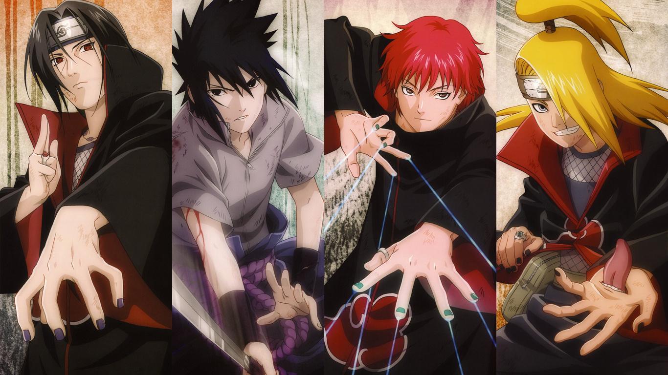 Naruto HD Wallpapers 1366x768 - WallpaperSafari