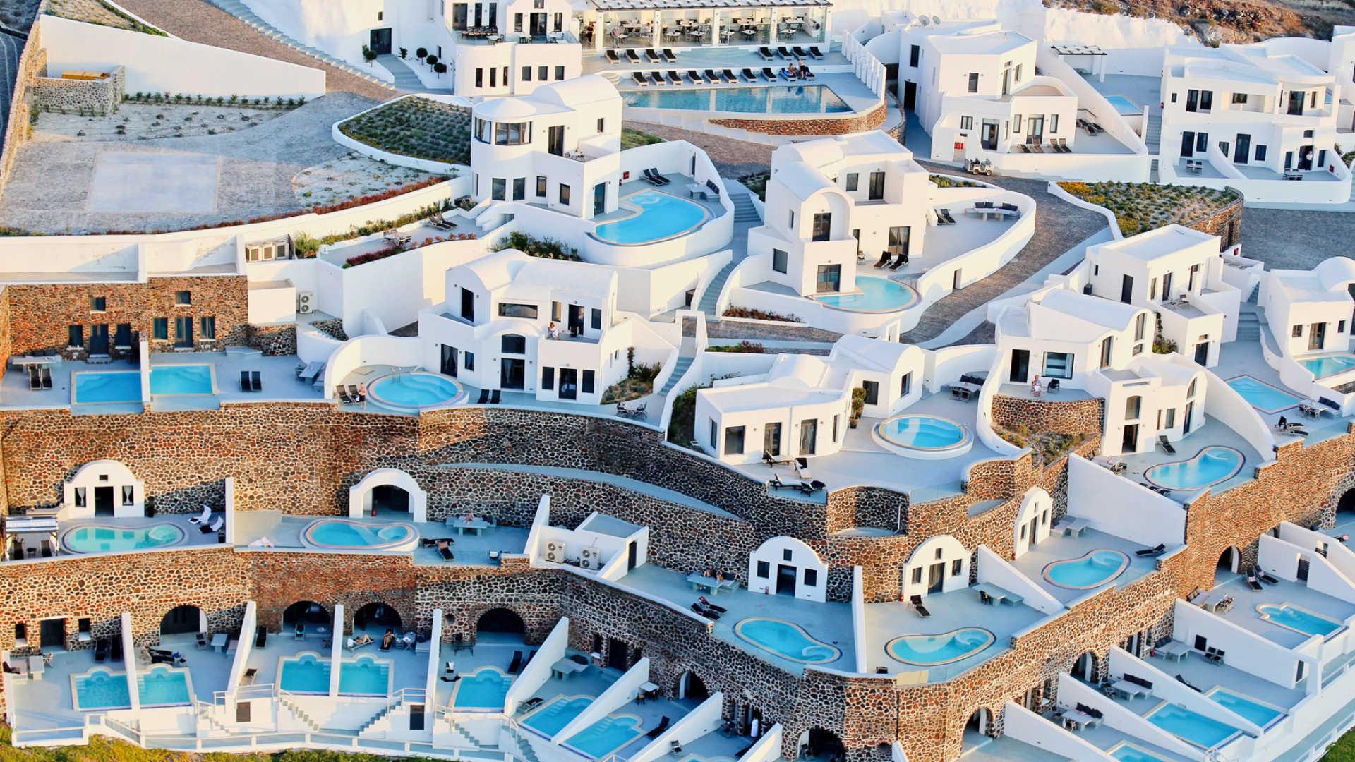 Ambassador Aegean Luxury Hotel Suites Santorini A Kuoni Hotel 1920x1080