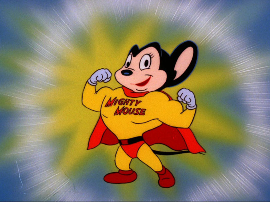 76 Mighty Mouse Wallpaper On Wallpapersafari