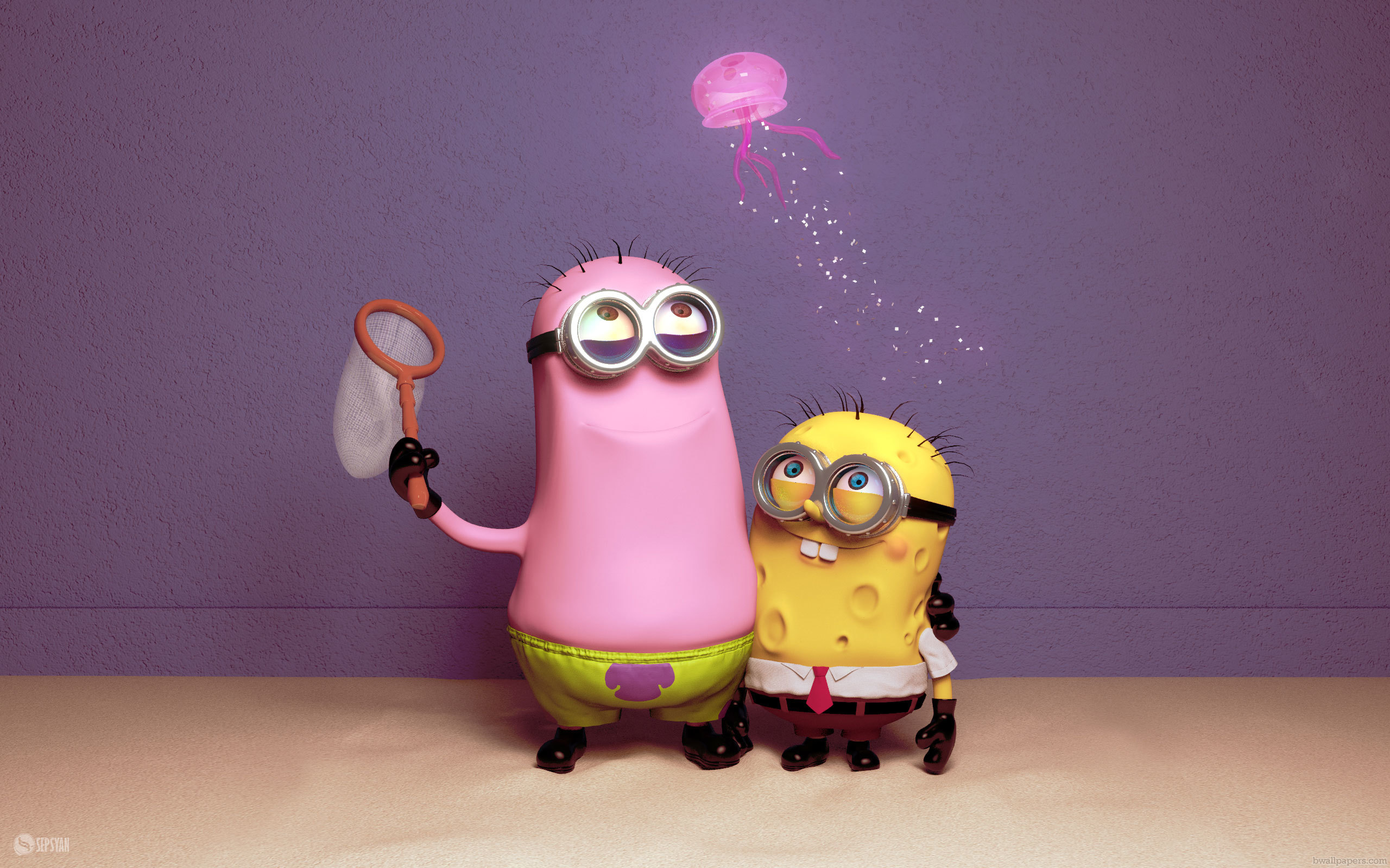 Funny Minions   Wallpaper High Definition High Quality Widescreen 2560x1600