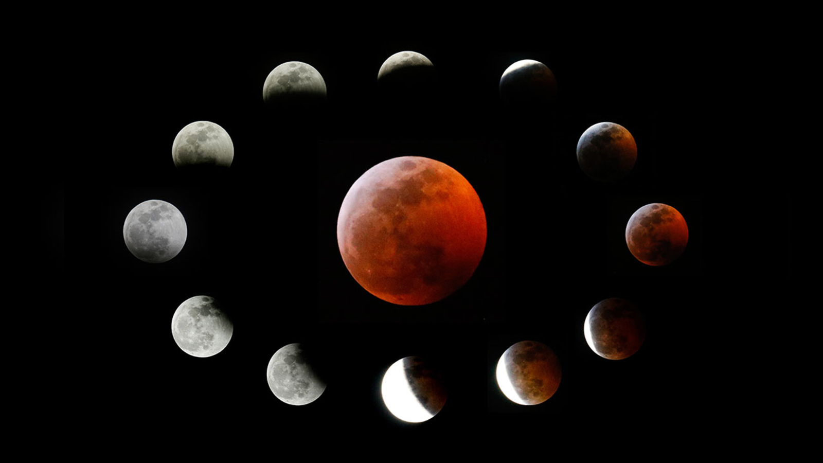 Super blood wolf moon 2019 Photos and videos of the lunar eclipse 1600x900